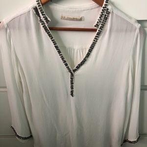 ZARA Flowy Dress Shirt